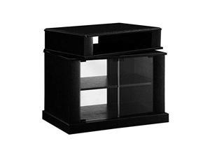 Swivel Top Entertainment Cart, Black 08999
