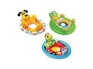Intex 59570EP Inflatable See Me Sit Pool Ride for Age 3-5 (Colors/Styles Vary)