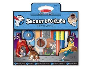 Melissa & Doug 5238 - Secret Decoder Deluxe Activity Set