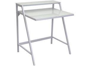 LumiSource OFD-TM-2TIER-W 2-Tier Desk - White