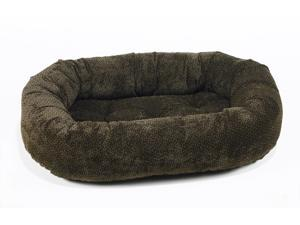 Bowsers 7850 - Donut Bed, Diam-micv - X-Small - Chocolate Bones