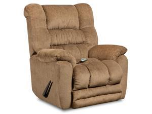Flash Furniture AM-H9560-6450-GG Massaging Temptation Fawn Microfiber Recliner with Heat Control