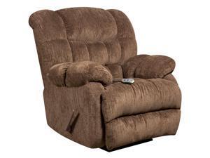 Flash Furniture AM-H9460-5860-GG Massaging Columbia Mushroom Microfiber Recliner with Heat Control