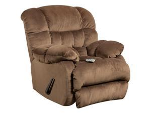 Flash Furniture AM-H9460-5983-GG Massaging Sharpei Espresso Microfiber Recliner with Heat Control