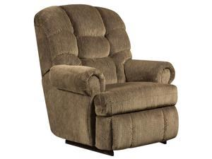 Flash Furniture AM-9930-7980-GG Big and Tall 350 lb. Capacity Gazette Basil Microfiber Recliner