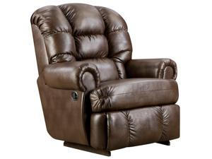 Flash Furniture AM-9930-8550-GG Big and Tall 350 lb. Capacity Loggins Espresso Leather Recliner
