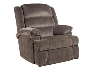 Flash Furniture AM-9960-7922-GG Big and Tall 350 lb. Capacity Aynsley Charcoal Microfiber Recliner