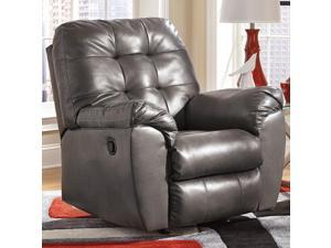 Flash Furniture FSD-2399REC-GRY-GG Signature Design by Ashley Alliston Rocker Recliner in Gray DuraBlend