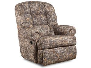 Flash Furniture AM-9930-1355-GG Big and Tall 350 lb. Capacity Camouflaged Encore Conceal Brown Fabric Recliner
