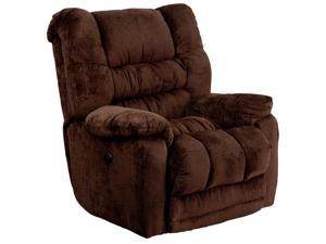 Flash Furniture AM-P9560-6452-GG Contemporary Temptation Mahogany Microfiber Power Recliner with Push Button