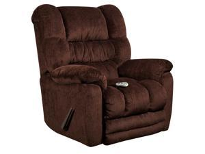 Flash Furniture AM-H9560-6452-GG Massaging Temptation Mahogany Microfiber Recliner with Heat Control