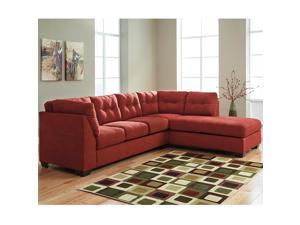 Flash Furniture FBC-2349RFSEC-SEN-GG Benchcraft Maier Sectional with Right Side Facing Chaise in Sienna Microfiber