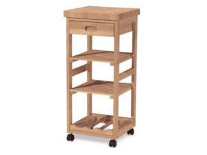 International Concepts Kitchen Trolley Unfinished - WC-1515