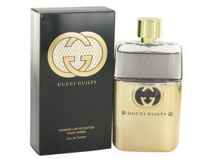 Gucci Guilty Diamonds By Gucci 3 oz Eau De Toilette Spray for Men