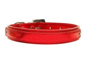 "3/4"" (18mm) Metallic Two-Tier Collar Red Large"