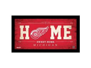Detroit Red Wings 10x20 Home Sweet Home Sign