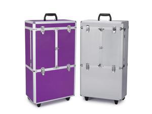 Top Performance TP4418-11 Groom Tool Case w/Wheels, Extra Large - Chrome