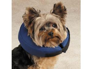 Total Pet Health TP3630-12-19 Inflatable Collar S Blue