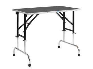 Master Equipment TP698-30 Adj Height Groom Table 30x18In