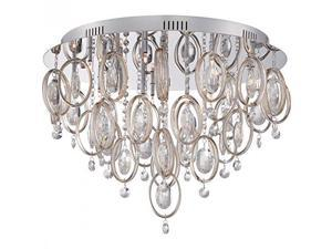 Quoizel PCEL1623C Platinum Collection Ella Flush Mount