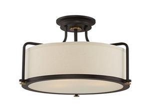 Quoizel Calvary QF1715WT Semi-Flush Mount Light