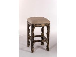 Hillsdale 5713-826 Carrara Backless Counter Stool - Blackwash Finish