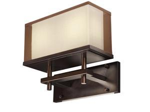 Maxim Hennesy LED 2-Light Wall Sconce Oil Rubbed Bronze