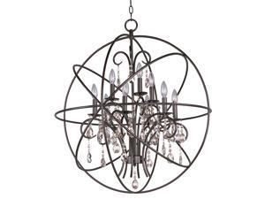 Maxim Orbit 9-Light Pendant Oil Rubbed Bronze
