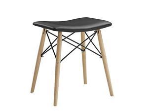 Walker Edison Retro Modern Faux Leather Stool