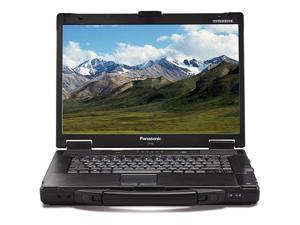 "Panasonic Toughbook CF-52 - Intel Core 2 Duo 1.8GHz - 2GB RAM - 160GB Storage - 15.4"" Active Matrix TFT Display - 3G Broadband - GPS - Windows XP Pro"