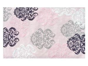 BROCADE PINK Size 2.8X4.8 Ft.