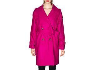 Shefetch Women's New 1 Colors 3 Sizes Stylish Warm Womens Outerwear Outerwear Rose Red M