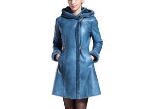 Shefetch Women's Stylish New 1 Colors 5 Sizes 2015 Womens Outerwear Outerwear Blue M