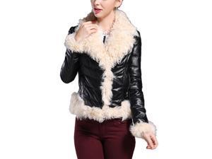 Shefetch Women's Stylish New 1 Colors 6 Sizes 2015 Womens Outerwear Outerwear Black M