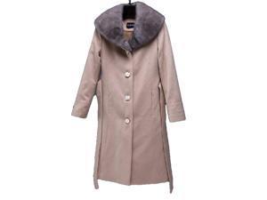 Shefetch Women's New 2 Colors 5 Sizes 2015 Stylish Womens Outerwear Outerwear Khaki XL