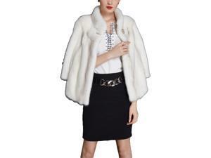 Shefetch Women's Stylish New 1 Colors 3 Sizes 2015 Womens Outerwear Outerwear White L