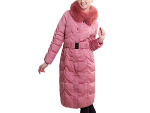 Shefetch Women's Polyester Autumn 5 Colors 7 Sizes Casual Womens Outerwear Pink 3XL
