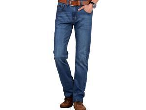 Shefetch Men's Casual 2015 Brand New Autumn 1 Colors 13 Sizes Mens Jeans Blue 35