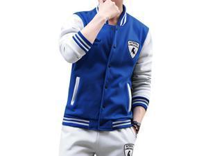 """Shefetch Men's Casual2015 Autumn Mens Activewear 6 Sizes Lycra 6 Colors Sky  Blue 3XL /US M chest:37.8"""""""