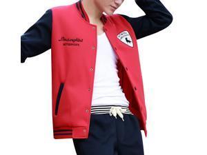 """Shefetch Men's Casual2015 Autumn Mens Activewear 6 Sizes Lycra 6 Colors Rose M /US XXS chest:31.5"""""""