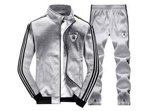Shefetch Men'S2015 Mens Activewear 6 Sizes Black,Deep Blue,Light Gray Light Gray XL