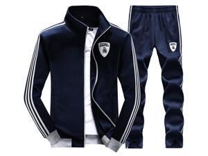 Shefetch Men'S2015 Mens Activewear 6 Sizes Black,Deep Blue,Light Gray Deep Blue M