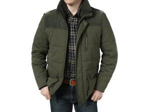 """Shefetch Men's Casual Autumn Brand New Fashion 2 Colors Mens Outerwear Army 2XL /US M-L chest:40.9"""""""