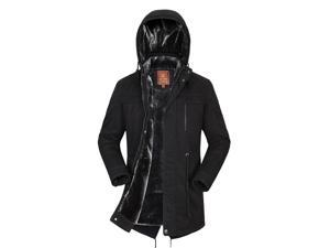 "Shefetch Men's Autumn Trends Casual Fashion Lycra Mens Outerwear 4 Colors Black US XL chest:45.7"""