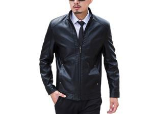 Shefetch Men's Lycra 2015 3 Colors 5 Sizes Mens Outerwear Black 2XL