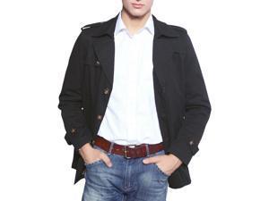 """Shefetch Men's Chic Retro 2015 Autumn Lycra Mens Outerwear 3 Colors Black M /US XS chest:33.1"""""""