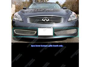 08-10 Infiniti G37 Coupe Bumper Mesh Grille Grill Insert   #N75236T