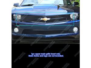 2010-2013 Chevy Camaro LT/LS/RS/SS Black Mesh Grille Grill W/Logoshow # C76722H