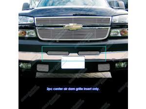 03-06 Chevy Silverado 1500/2500HD/3500 Air Dam Stainless Billet Grille Grill Insert