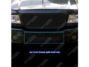 Fits 2001-2003 Ford Ranger/ Ranger Edge Black Billet Grille Grill for 4WD only #F85434H
